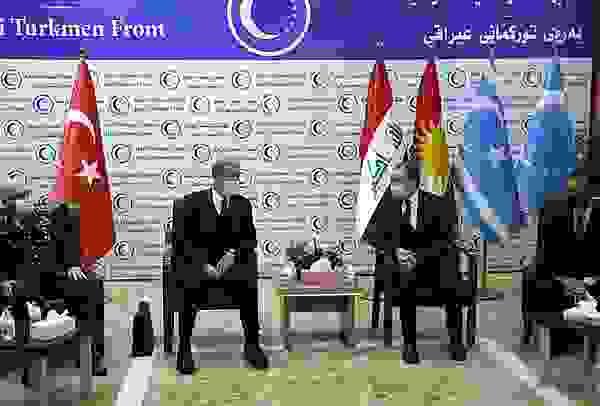 Bakan Akar'ın ziyareti, Türkmenlere moral oldu