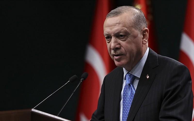 Erdoğan Telegram'dan bugünkü mesaisini paylaştı