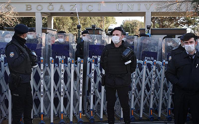 Boğaziçi'ndeki protesto soruşturmasında yeni gelişme