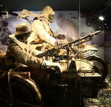 Hisart Canlı Tarih ve Diorama Müzesi kapılarını TRT Haber'e açtı
