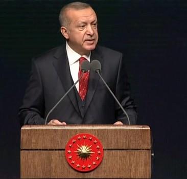 Başkan Erdoğan'dan sert sözler