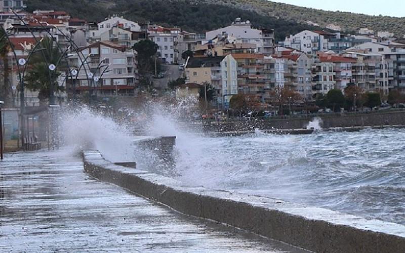 Ege Denizi'nde bugün ve yarın fırtına bekleniyor