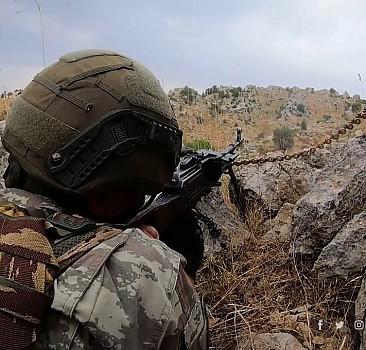 Afrin'de terör tuzağının imhasını TRT Haber görüntüledi