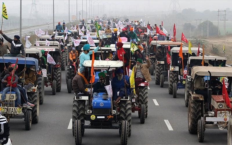 Hindistan'da protestocu çiftçilerle görüşmelerde de sonuç alınamadı