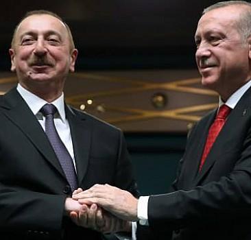 Cumhurbaşkanı Erdoğan'dan Aliyev'e telefon