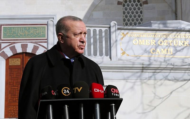 Erdoğan: Lafa geldiğinde 'demokrasinin beşiği