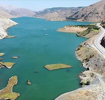 Çat Barajı'nın 'yüzen adaları' turizme kazandırılacak
