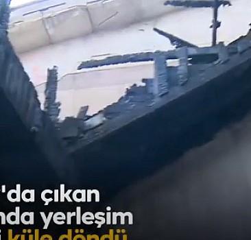 Belen yaralarını sarıyor: Evlere ateş kozalakları düştü, çatılar tutuştu