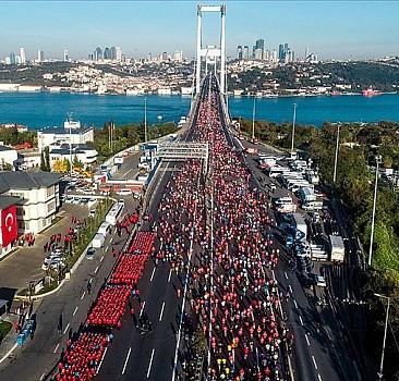 42. İstanbul Maratonu yarın koşulacak
