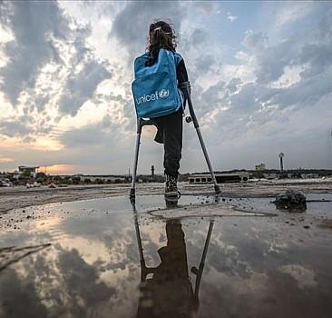 Savaşta tek bacağını kaybeden 8 yaşındaki Suriyeli Fatma'nın hayali, Türkiye'de tedavi olmak
