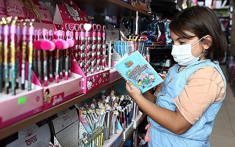 Okulların açılması öncesinde kırtasiye ürünlerine talep arttı