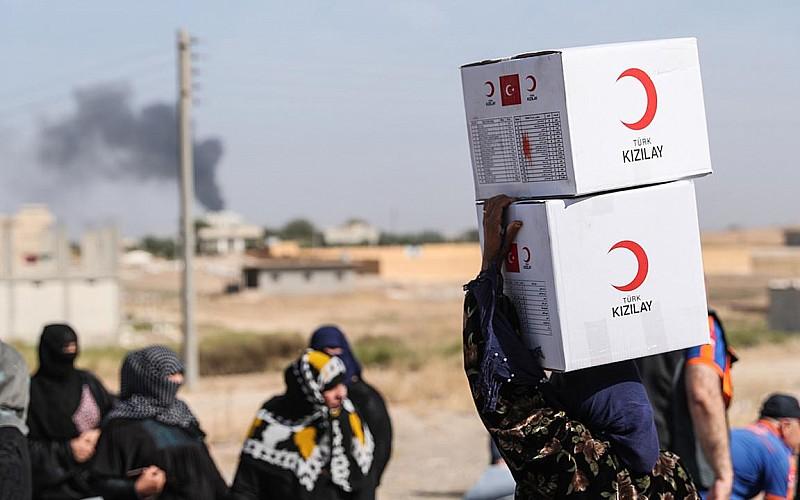 Türk Kızılaydan Gazze'de ihtiyaç sahipleri için aşevi