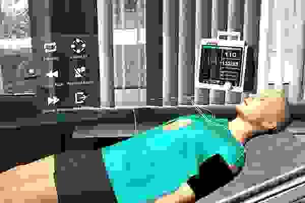 Medikal hologram tıbbın hizmetinde