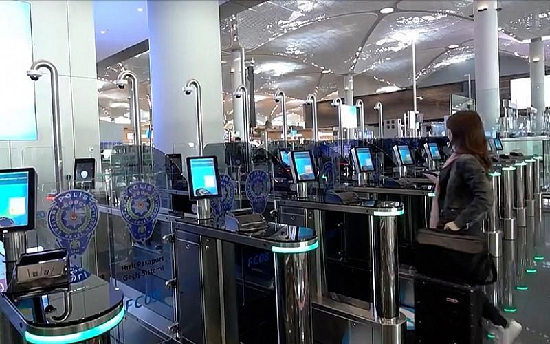 İstanbul Havalimanı'nda 'Hızlı Pasaport Geçiş Sistemi'