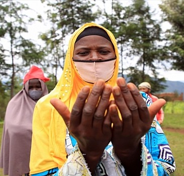 Beklenen Sensin Projesi Ruandalıların yüzünü güldürdü