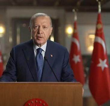 "Erdoğan'dan ""Adalar Denizi"" sempozyumuna videomesaj"