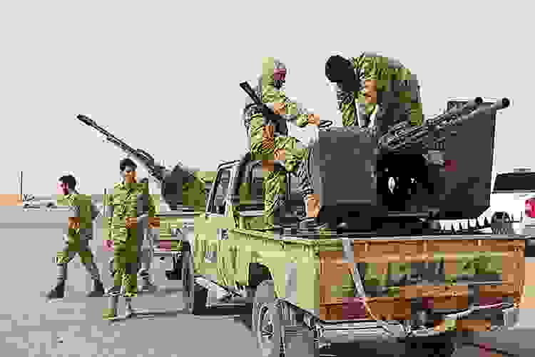 Hafter güneydeki teröristlere karşı harekat başlattı