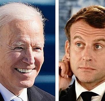 Macron ve Biden arasında 'denizaltı' zirvesi