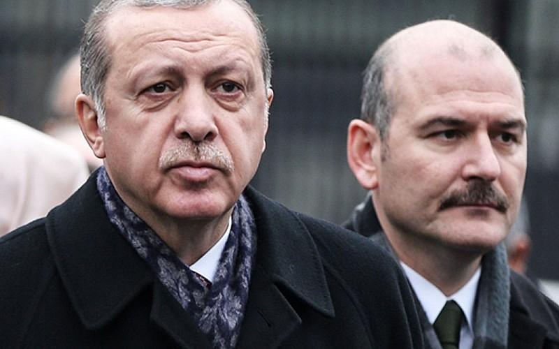 Erdoğan'dan Soylu'ya destek