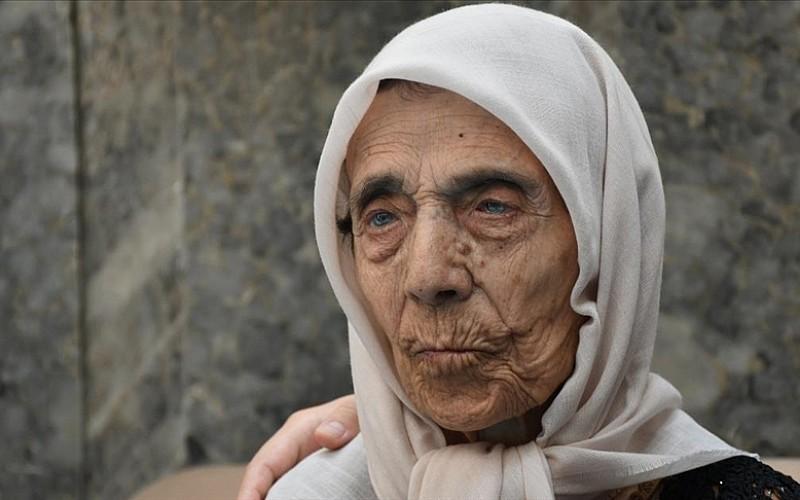 'Asırlık nine' 104'üncü yaşını huzurevinde kutladı