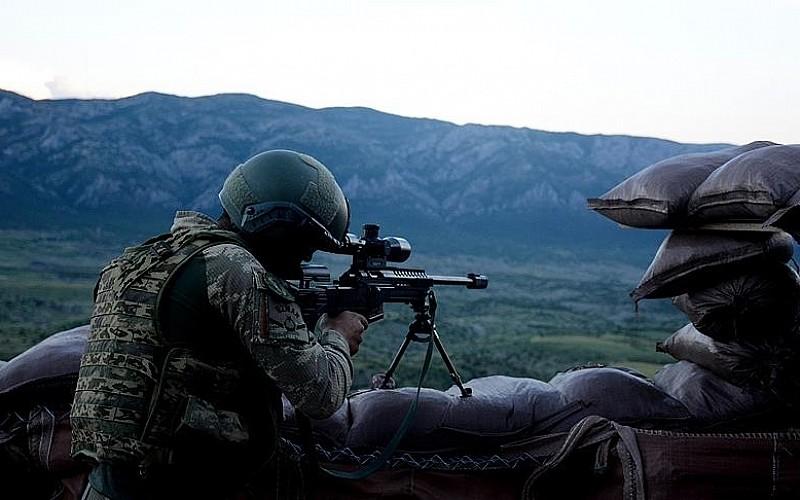 Güvenlik güçleri nisanda 95 PKK'lı teröristi etkisiz hale getirdi