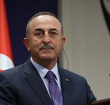 Çavuşoğlu, kardeş ülkelerle Filistin'i görüştü