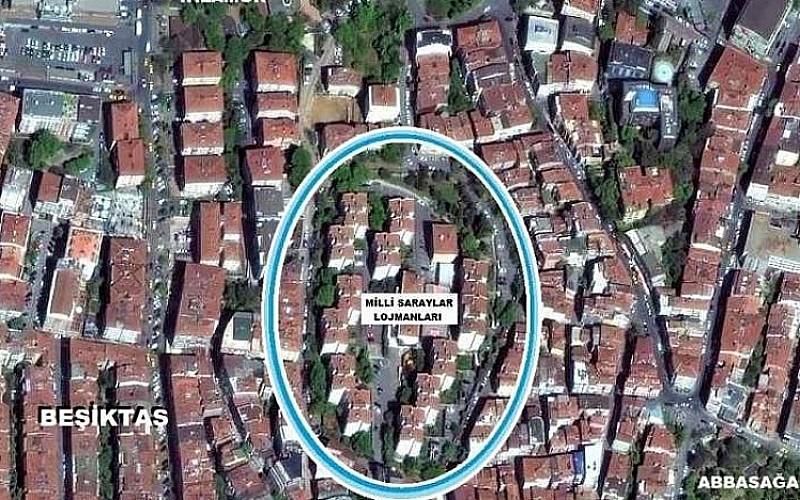 İstanbul/Beşiktaş'ta arsa satış karşılığı gelir paylaşım işi ihalesi