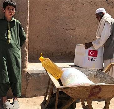 TİKA'dan Afganistan'daki ihtiyaç sahibi ailelere ramazan yardımı