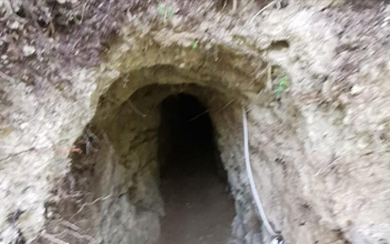 MSB: Suriye'den Türkiye istikametine kazılan tünel hudut personelinin dikkati sayesinde tespit edildi