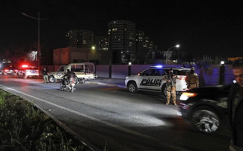 Erbil Havaalanı'na İHA ile saldırı düzenlendi
