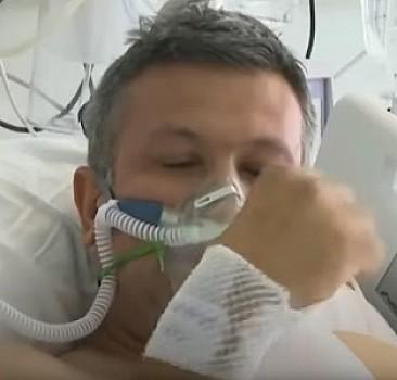 Bakan Koca, aşı olmayı erteleyen hastanın videosu ile uyardı