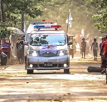 Myanmar'da şimdiye kadar 52 çocuk hayatını kaybetti