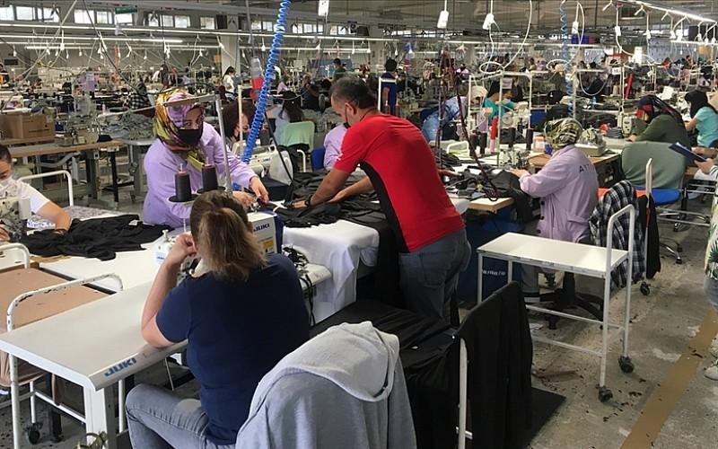 Tekstil ürünleri imalatı endeksi rekor seviyeye yükseldi