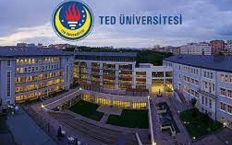 TED Üniversitesi 3 öğretim üyesi alacak