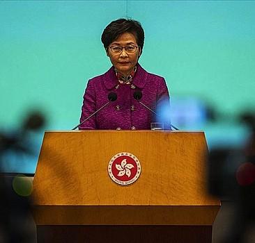 Hong Kong Baş Yöneticisi Lam, Çin'in seçim sisteminde değişiklik planına destek verdi