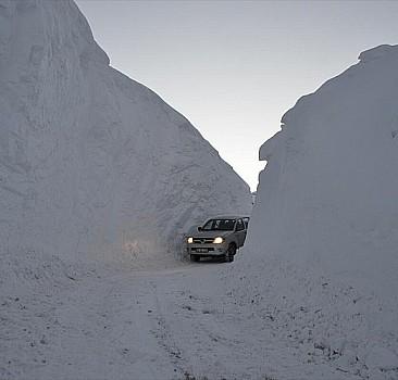 Yoğun kar yağışı uyarısı yapıldı