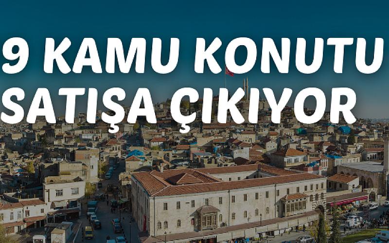 Gaziantep'te kamu konutu satışı