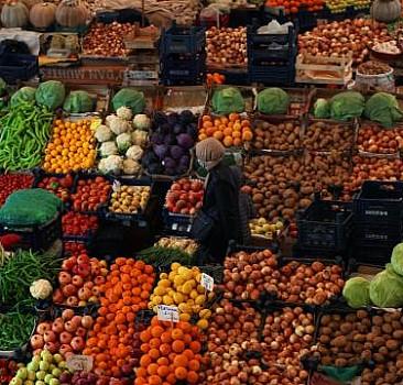 Sebze meyvelerdeki tarım ilaçları gıda laboratuvarlarında kontrol ediliyor
