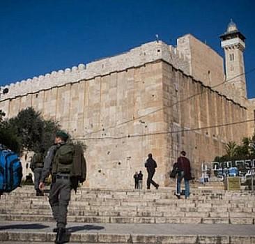 İsrail'den Harem-i İbrahim Camisi için alçakça plan