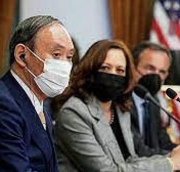 Biden ile Japonya Başbakanı Yoşihide Hin-Pasifik ittifakını görüştü