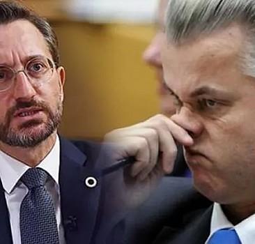 Wilders'in ifadelerine Fahrettin Altun'dan sert tepki