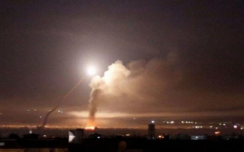 İsrail'in Suriye'deki Palmira bölgesine hava saldırısı düzenlediği iddia edildi
