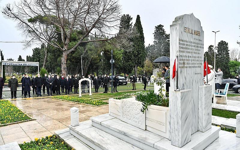 Mehmet Akif Ersoy, kabri başında anıldı