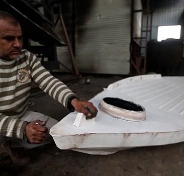 Plastik tekneler Gazzeli avcıların derdine deva oldu