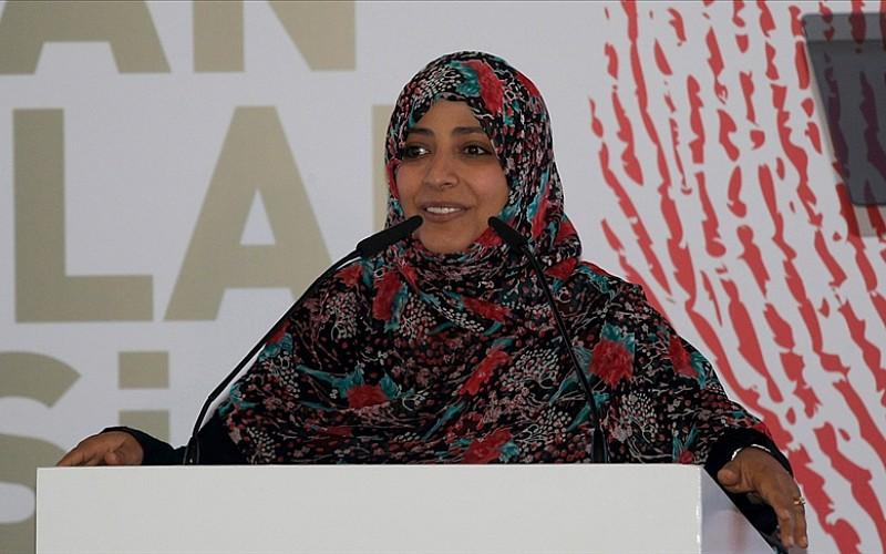 """Nobel ödüllü Yemenli aktivist Kerman'dan """"Arap Baharı"""" değerlendirmesi:"""