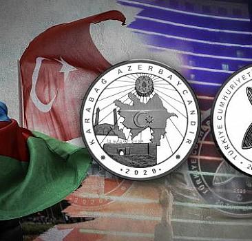 Türkiye'den Azerbaycan'a zafer hatırası
