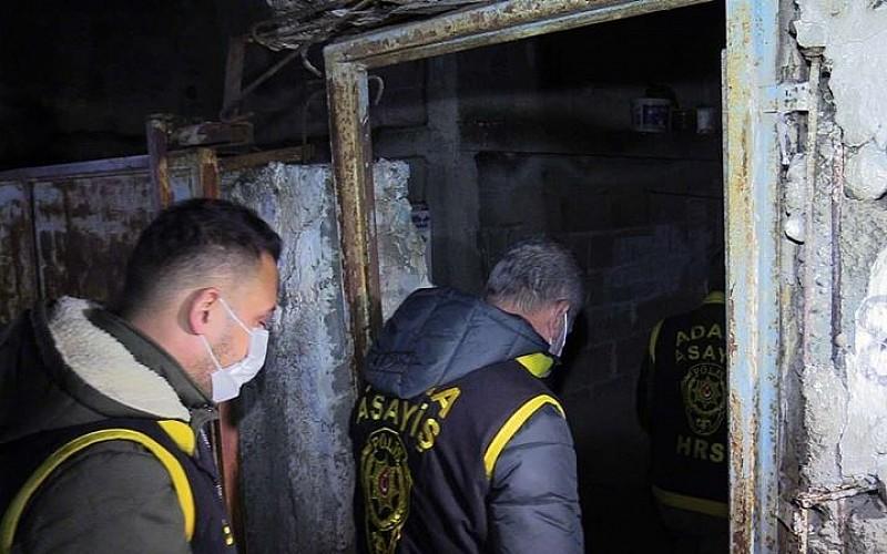 Adana'da 98 firarinin yakalanması için şafak operasyonu yapıldı