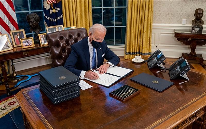 ABD Başkanı Biden, tedarik zincirini güçlendirmeye yönelik kararname imzaladı