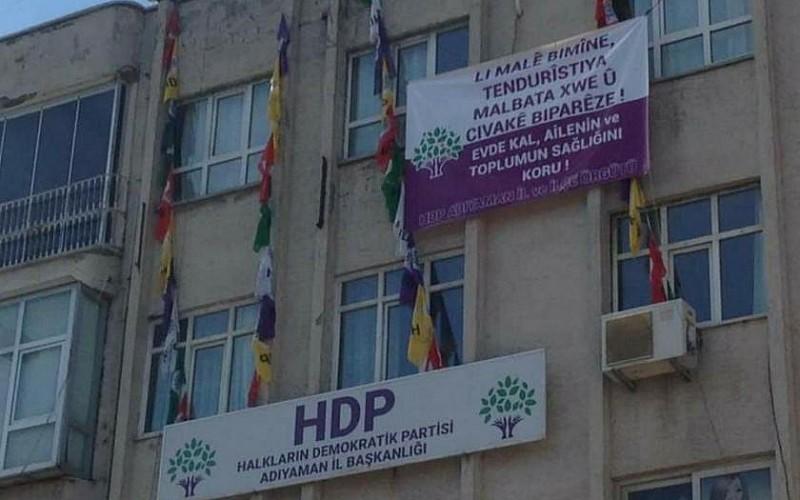 HDP binasında örgüte ait dokümanlar ele geçirildi