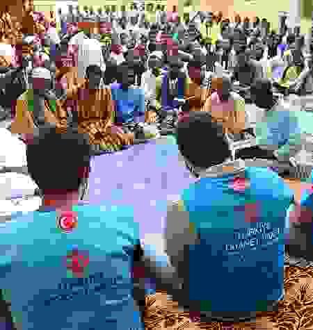 Türkiye Diyanet Vakfı, Senegal'deki yardımlarını artırarak sürdürüyor